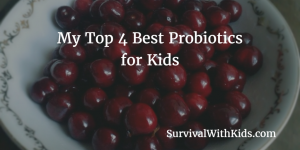 Featured Image for Best Probiotics for Kids