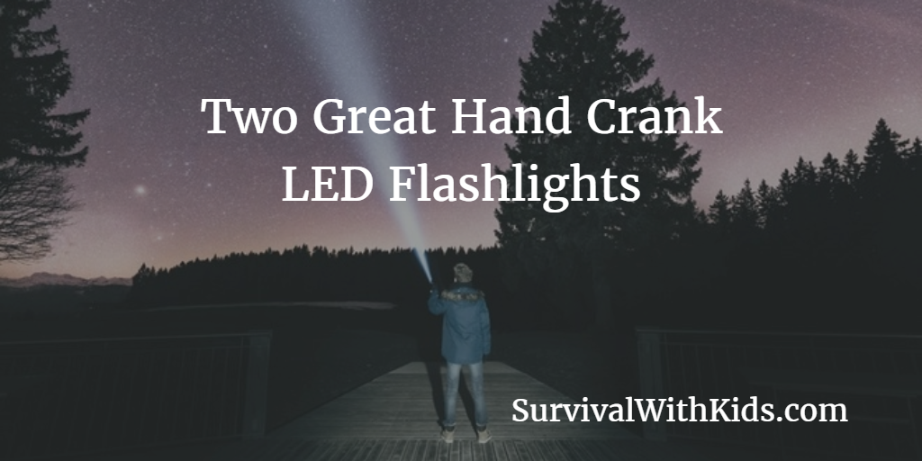 Featured Image for Hand Crank LED Flashlights